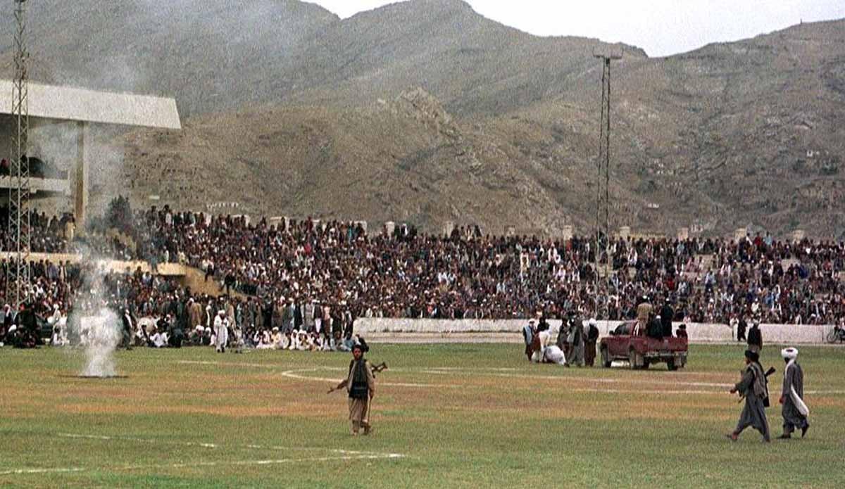 กาซี สเตเดี้ยม : สนามกีฬาที่ครั้งหนึ่งเคยเป็นลานประหารกลางแจ้งของกลุ่ม 'ตาลีบัน'