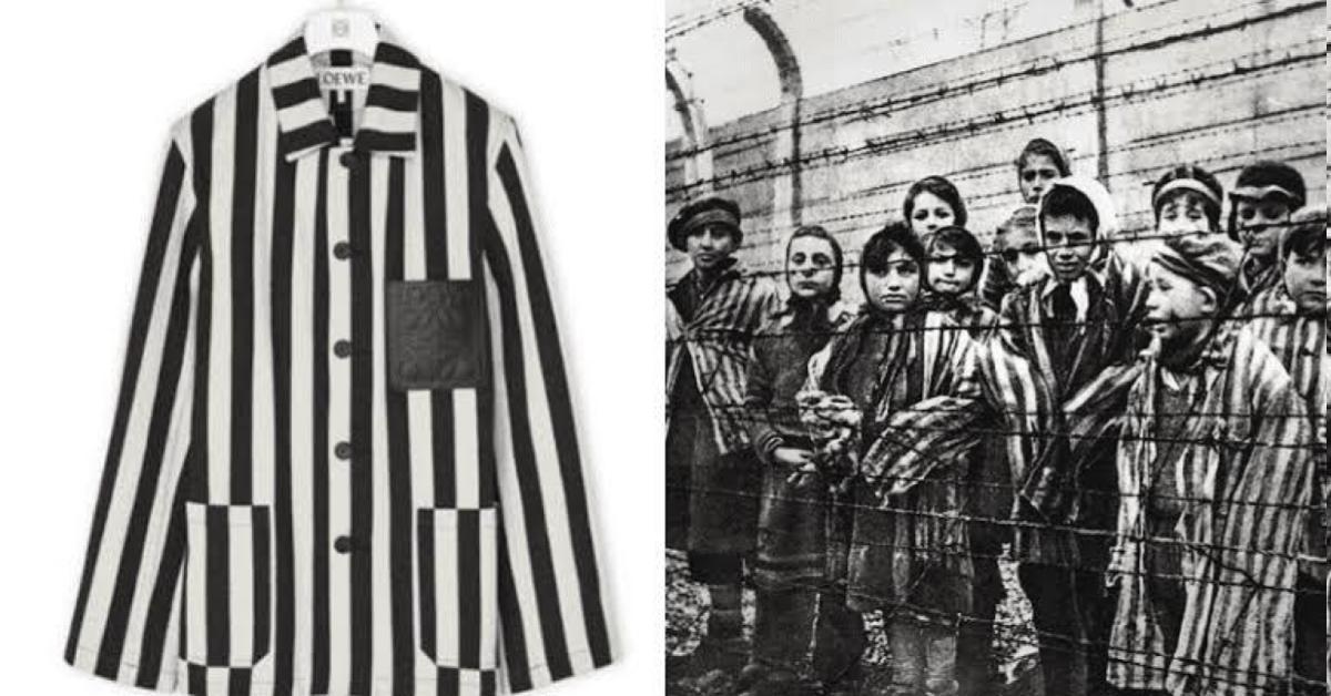 แบรนด์หรูขอโทษ ออกคอลเลคชัน คล้ายชุดนักโทษค่ายนาซี