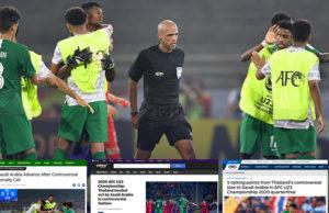 สื่อนอกชี้ U23ชิงแชมป์เอเชีย 2020 ทีมชาติไทยเสียจุดโทษไม่เคลียร์