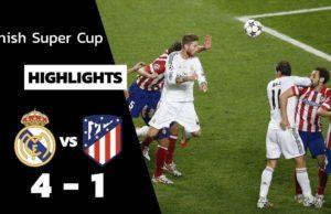 ไฮไลท์ฟุตบอลเมื่อคืน เรอัลมาดริด 0 - 0 แอต มาดริด ลูกโทษ (4-1) ซูเปอร์คัพ สเปน