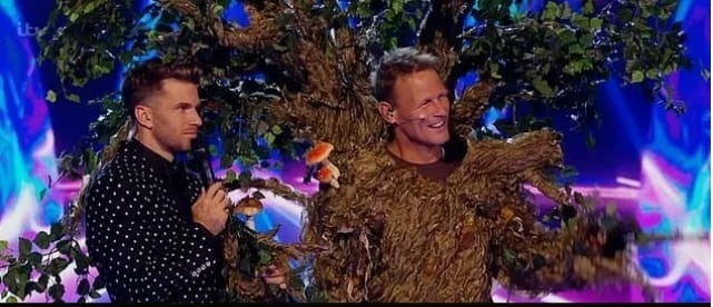 เชอร์ริงแฮมเซอร์ไพร์ ออกรายการThe Masked Singer อังกฤษ ในโฉมหน้ากากต้นไม้