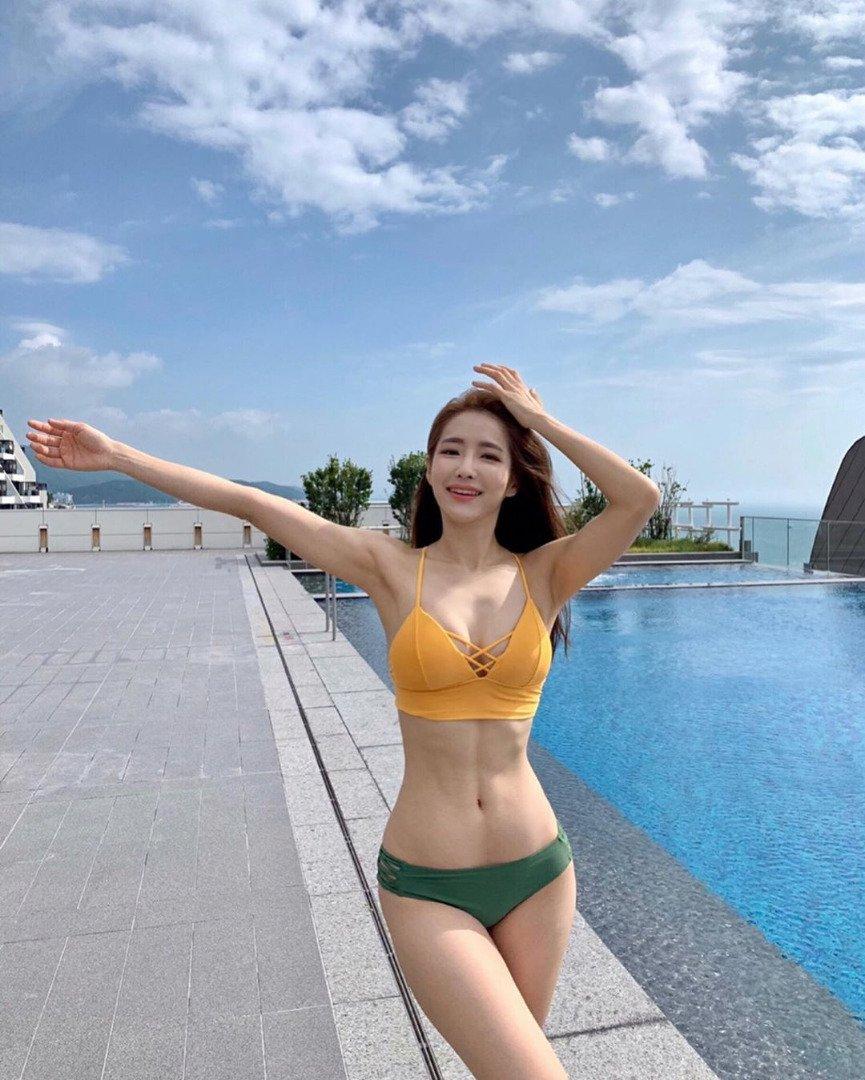คังฮยอน-คยอง ครูพิลาทิสแดนโสม เจ้าของหุ่นเซ็กซี่ขยี้ใจ