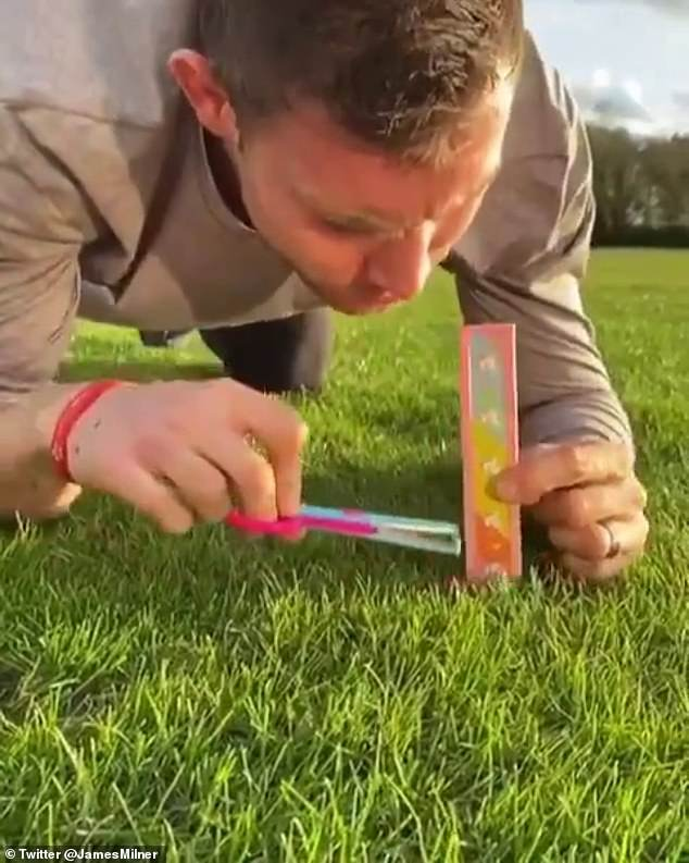 มิลเนอร์ กองกลาง ประสบการณ์สูงของ ลิเวอร์พูล โชว์ตัดหญ้า